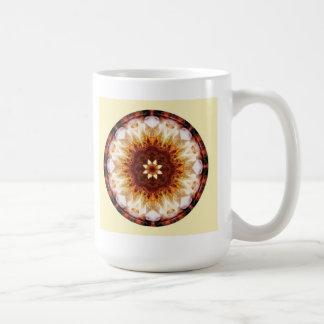 Mandalas from the Heart of Transformation, No. 10 Basic White Mug