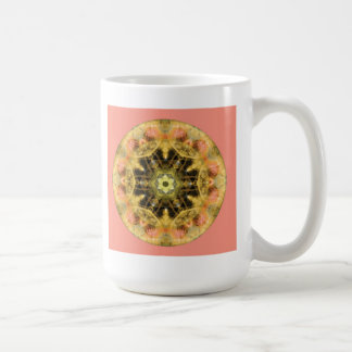 Mandalas from the Heart of Transformation, No. 4 Basic White Mug