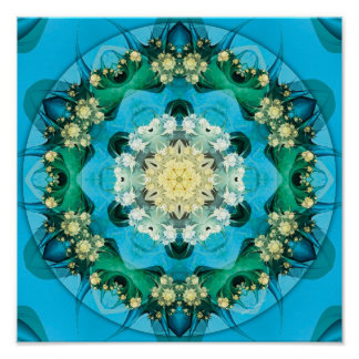 Mandalas of Forgiveness and Release 15 Poster
