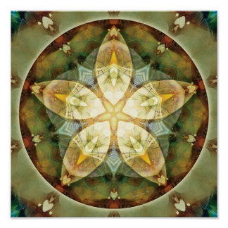 Mandalas of Forgiveness and Release 1 Poster