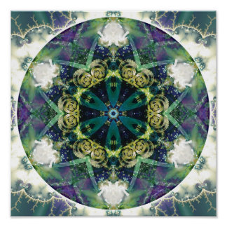 Mandalas of Forgiveness and Release 20 Poster