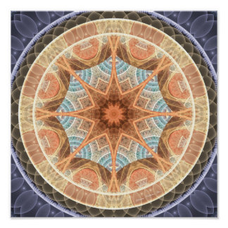 Mandalas of Forgiveness and Release 24 Poster