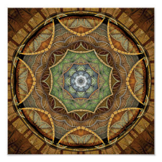 Mandalas of Forgiveness and Release 25 Poster