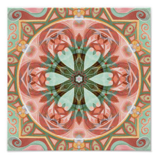 Mandalas of Forgiveness and Release 7 Poster