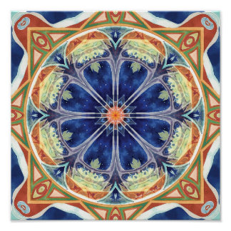 Mandalas of Forgiveness and Release 8 Poster
