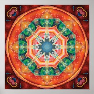 Mandalas of Forgiveness & Release 18 Poster
