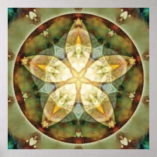 Mandalas of Forgiveness & Release 1 Poster