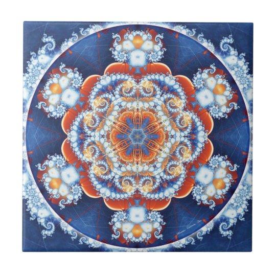 Mandalas of Forgiveness & Release 6 Small Square Tile