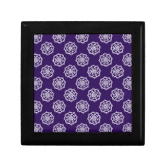 Mandalas on Purple Gift Box