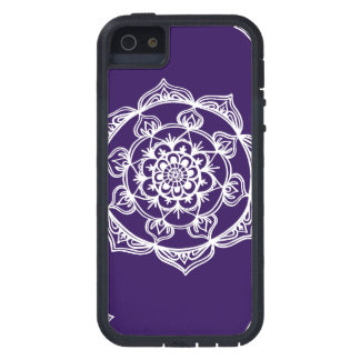 Mandalas on Purple Tough Xtreme iPhone 5 Case