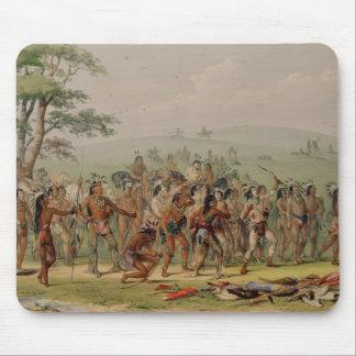 Mandan Archery Contest, c.1832 Mouse Pad