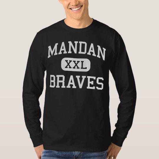 Mandan - Braves - High - Mandan North Dakota T-Shirt