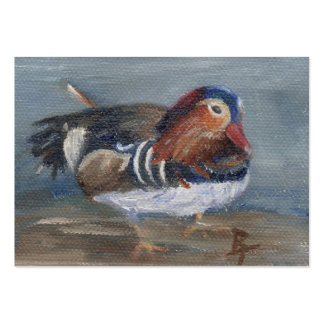 Mandarin Duck Art Card Pack Of Chubby Business Cards