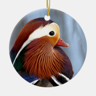 Mandarin Duck Drake Christmas Ornament