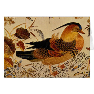 Mandarin Duck Greeting Cards