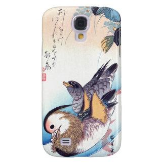 Mandarin Duck Japanese Print Galaxy S4 Cover