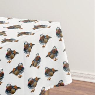 Mandarin Frenzy Tablecloth (choose colour)