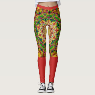 Mandela Love Warrior/ Love Angel Leggings