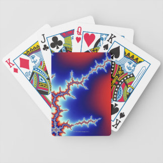 Mandelbrot 3 bicycle playing cards