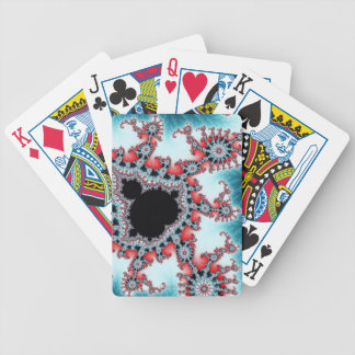 Mandelbrot 7 bicycle playing cards