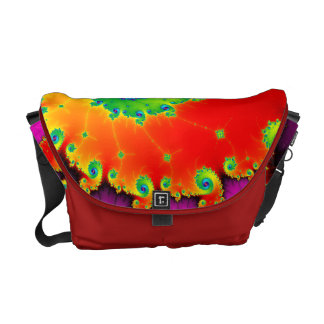 Mandelbrot Art Commuter Bag