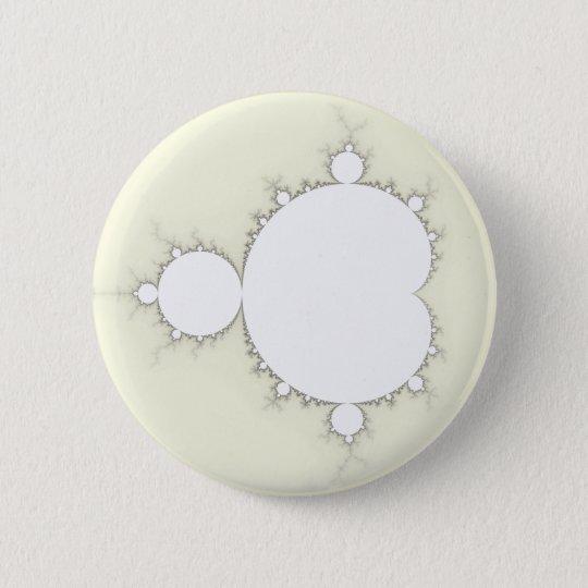 Mandelbrot Set 09 - Fractal 6 Cm Round Badge