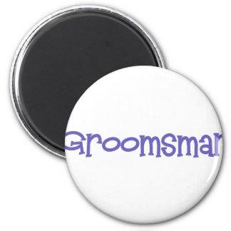 Mandi-Groomsman-Ind 6 Cm Round Magnet