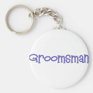 Mandi-Groomsman-Ind Basic Round Button Key Ring