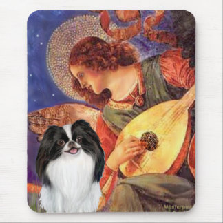 Mandolin Angel - Japanese Chin 3 Mouse Pad