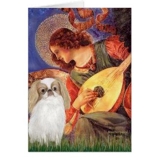 Mandolin Angel - Japanese Chin (L1) Card