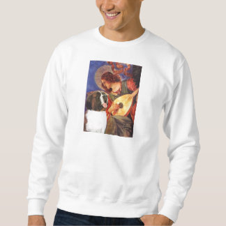 Mandolin Angel - Saint Bernard Sweatshirt