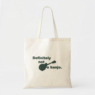 Mandolin -- Definitely Not A Banjo Budget Tote Bag