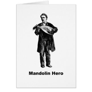 Mandolin Hero Card