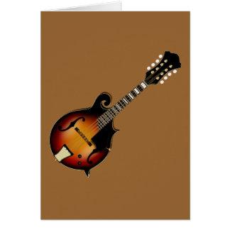 Mandolin Mustard Card