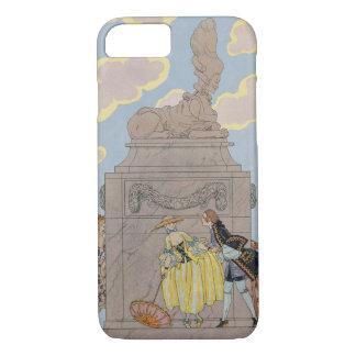 Mandoline, illustration for 'Fetes Galantes' by Pa iPhone 8/7 Case