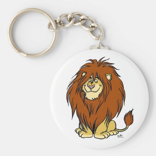 Mane Attraction keychain
