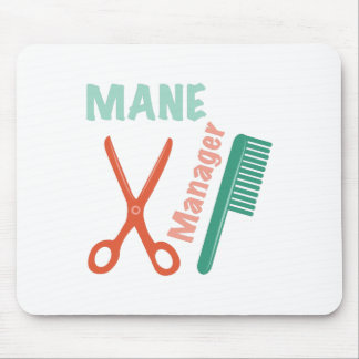 Mane Manager Mouse Pad