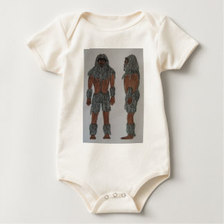 Manedsquatch old man grey.JPG Baby Bodysuit