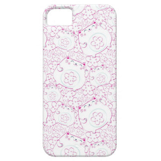 Maneki Neko Cats Pattern iPhone 5 Covers