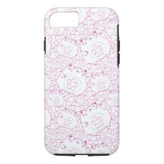 Maneki Neko Cats Pattern iPhone 7 Case