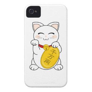 Maneki Neko - Good Fortune Cat iPhone 4 Cover