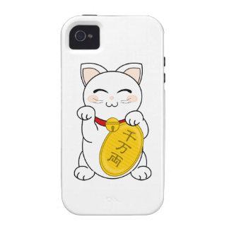 Maneki Neko - Good Fortune Cat Vibe iPhone 4 Case