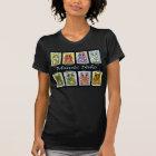 Maneki Neko Good Luck Cats Fantasy Cat Art T-Shirt
