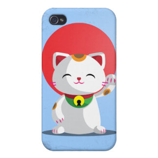 Maneki Neko Cover For iPhone 4