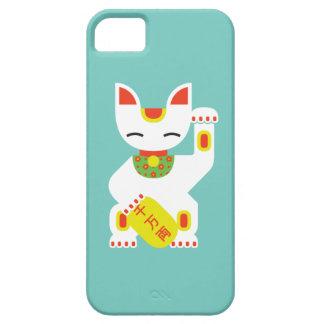 Maneki Neko - Japanese Lucky Cat iPhone 5 Case