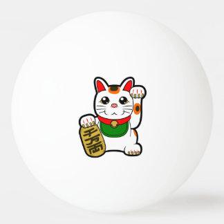 Maneki Neko: Japanese Lucky Cat Ping Pong Ball