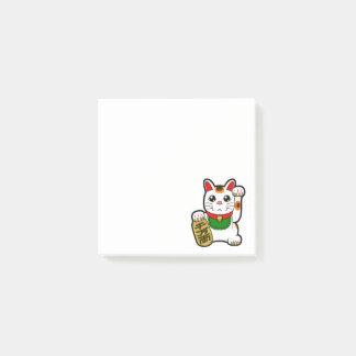 Maneki Neko: Japanese Lucky Cat Post-it Notes