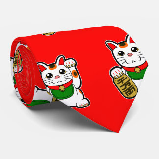Maneki Neko: Japanese Lucky Cat Tie