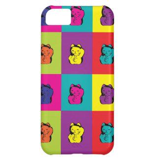 Maneki Neko Kitty Pop Art Cover For iPhone 5C