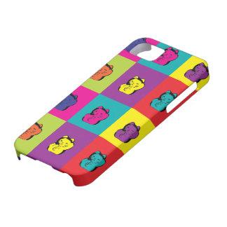 Maneki Neko Kitty Pop Art iPhone 5 Cover